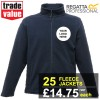 Embroidered Regatta Thor III Fleece Jackets - 25 pack | £14.75+vat each