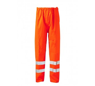 FR/AS HIVIS Water Resistant Pro Over Trouser - Orange