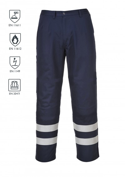 Flame Retardant Work Trouser - Navy
