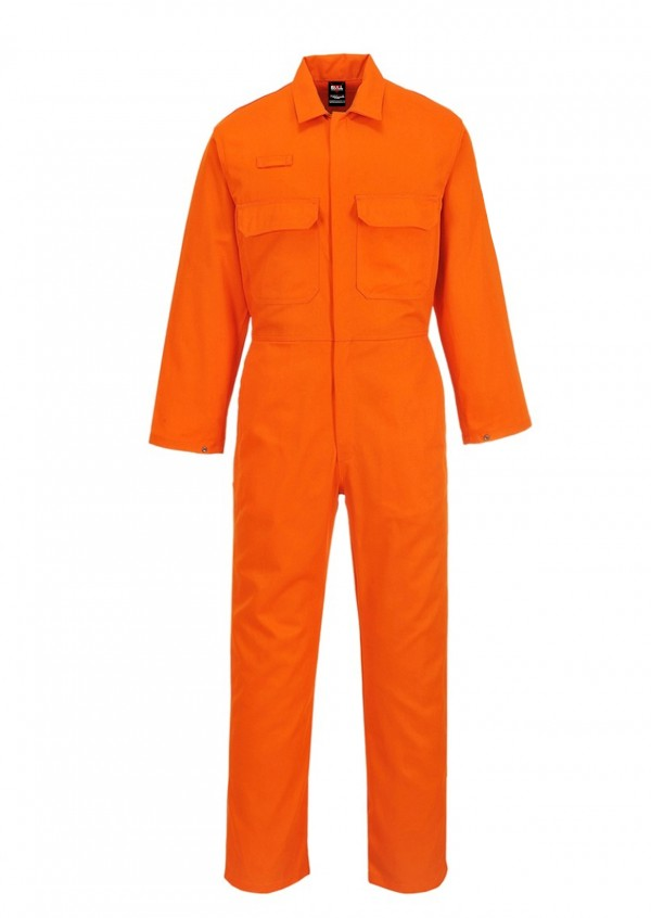 Flame Retardant Coverall - Orange