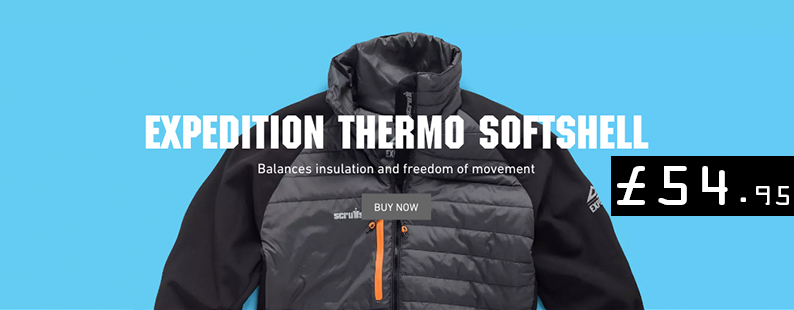 Scruffs Expedition Thermo Softshell Workwear Wardrobe