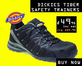 Dickies tiber safety trainers METAL FREE - Cheap