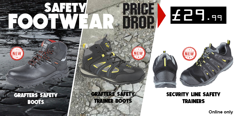 £29.99 Safety Footwear Range
