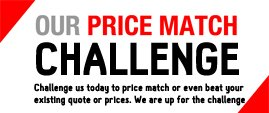 Workwear and uniform price match challenge